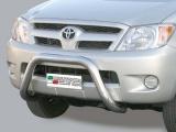 Nerezový přední ochranný rám Toyota Hilux VII, 76mm