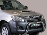 Nerezový přední ochranný rám Toyota Hilux VII FL, 76mm