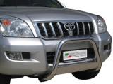 Nerezový přední ochranný rám Toyota Land Cruiser KDJ 120/125, 63mm