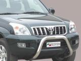 Nerezový přední ochranný rám Toyota Land Cruiser KDJ 120/125, 76mm
