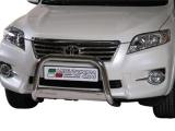 Nerezový přední ochranný rám Toyota RAV4 III FL2, 63mm
