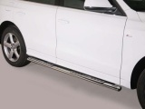 Nerez boční designové nášlapy Audi Q5