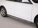 Nerez boční designové nášlapy Audi Q7 I
