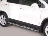 Nerez boční designové nášlapy Chevrolet Trax