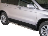 Nerez boční designové nášlapy Honda CR-V III FL