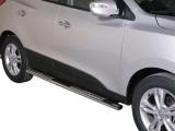 Nerez boční designové nášlapy Hyundai ix35