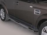 Nerez boční designové nášlapy Land Rover Discovery 4