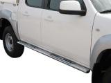 Nerez boční designové nášlapy Mazda BT-50