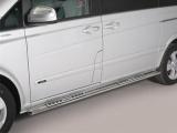 Nerez boční designové nášlapy Mercedes Vito / Viano / V-Class W447