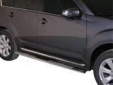 Nerez boční designové nášlapy Mitsubishi Outlander II FL