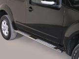 Nerez boční designové nášlapy Nissan Pathfinder III FL