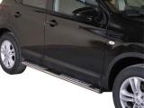 Nerez boční designové nášlapy Nissan Qashqai FL