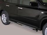 Nerez boční designové nášlapy Nissan X-Trail II FL