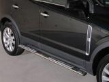 Nerez boční designové nášlapy Opel Antara FL
