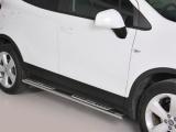 Nerez boční designové nášlapy Opel Mokka / X