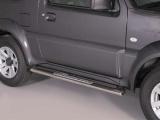 Nerez boční designové nášlapy Suzuki Jimny (od 2012)