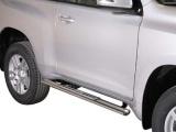 Nerez boční designové nášlapy Toyota Land Cruiser 150, 3-dvéř.