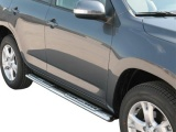 Nerez boční designové nášlapy Toyota RAV4 III FL