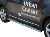 Nerez boční designové nášlapy Toyota Urban Cruiser