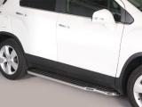 Boční nerezové nášlapy Chevrolet Trax