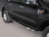 Boční nerezové nášlapy Ford Ranger