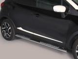 Nerez boční designové nášlapy Renault Captur