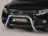 Nerezový přední ochranný rám Volkswagen Tiguan FL, 76mm