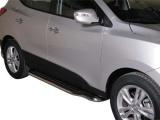 Boční nerezové nášlapy Hyundai ix35