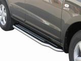 Boční nerezové nášlapy Hyundai Santa Fe II