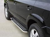 Boční nerezové nášlapy Hyundai Tucson