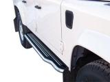Boční nerezové nášlapy Land Rover Defender 90