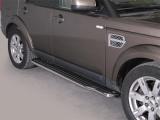 Boční nerezové nášlapy Land Rover Discovery 4