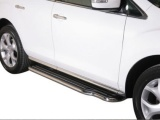 Boční nerezové nášlapy Mazda CX-7 FL