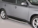 Boční nerezové nášlapy Mitsubishi Outlander III