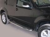 Boční nerezové nášlapy Nissan Pathfinder III FL