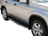 Boční nerezové nášlapy Nissan X-Trail II