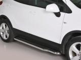 Boční nerezové nášlapy Opel Mokka / X
