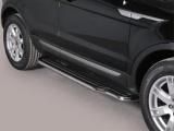 Boční nerezové nášlapy LAND ROVER Range Rover Evoque (Pure &  Prestige) 11 -