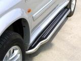 Boční nerezové nášlapy Suzuki Grand Vitara XL7