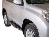 Boční nerezové nášlapy Toyota Land Cruiser 150, 3-dvéř.