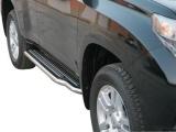 Boční nerezové nášlapy Toyota Land Cruiser 150, 5-dvéř.