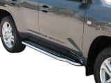Boční nerezové nášlapy Toyota Land Cruiser V8 200