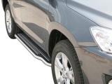 Boční nerezové nášlapy Toyota RAV4 III FL