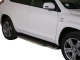Boční nerezové nášlapy Toyota RAV4 III FL2