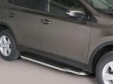 Boční nerezové nášlapy Toyota RAV4 IV