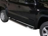 Boční nerezové nášlapy Volkswagen Amarok