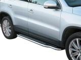 Boční nerezové nášlapy Volkswagen Tiguan
