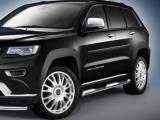 Nerez boční nášlapy Jeep Grand Cherokee Summit / SRT