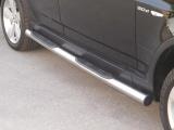 Nerez boční nášlapy se stupátky BMW X3