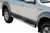 Nerez boční nášlapy se stupátky Ford Ranger double cab I